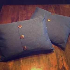 Sonoma Accents - Sonoma Navy Accent Pillows, Set of Two